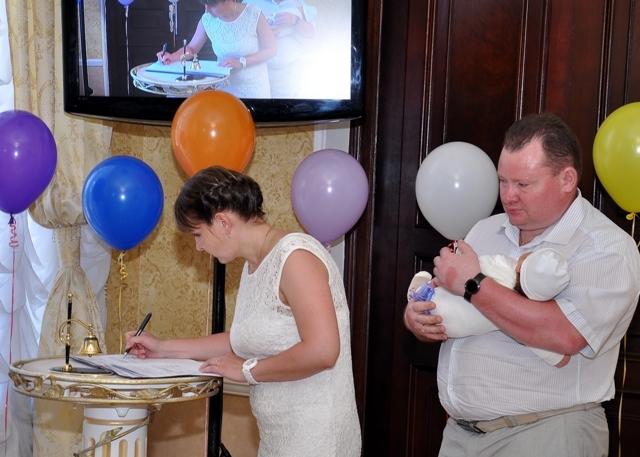 Сценарий проведения торжественной регистрации рождения