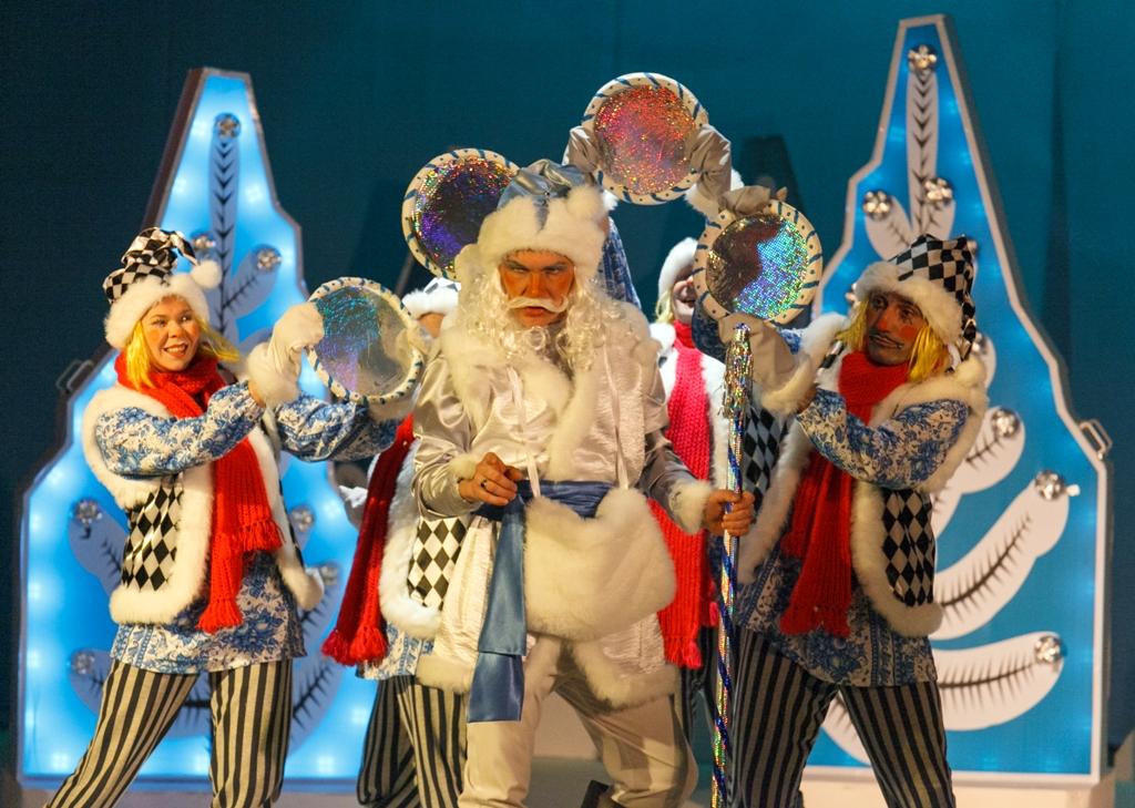 Новогодние сценарии для детского театра